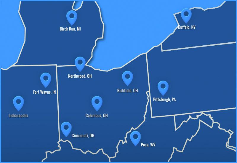 Ohio Tool Locations