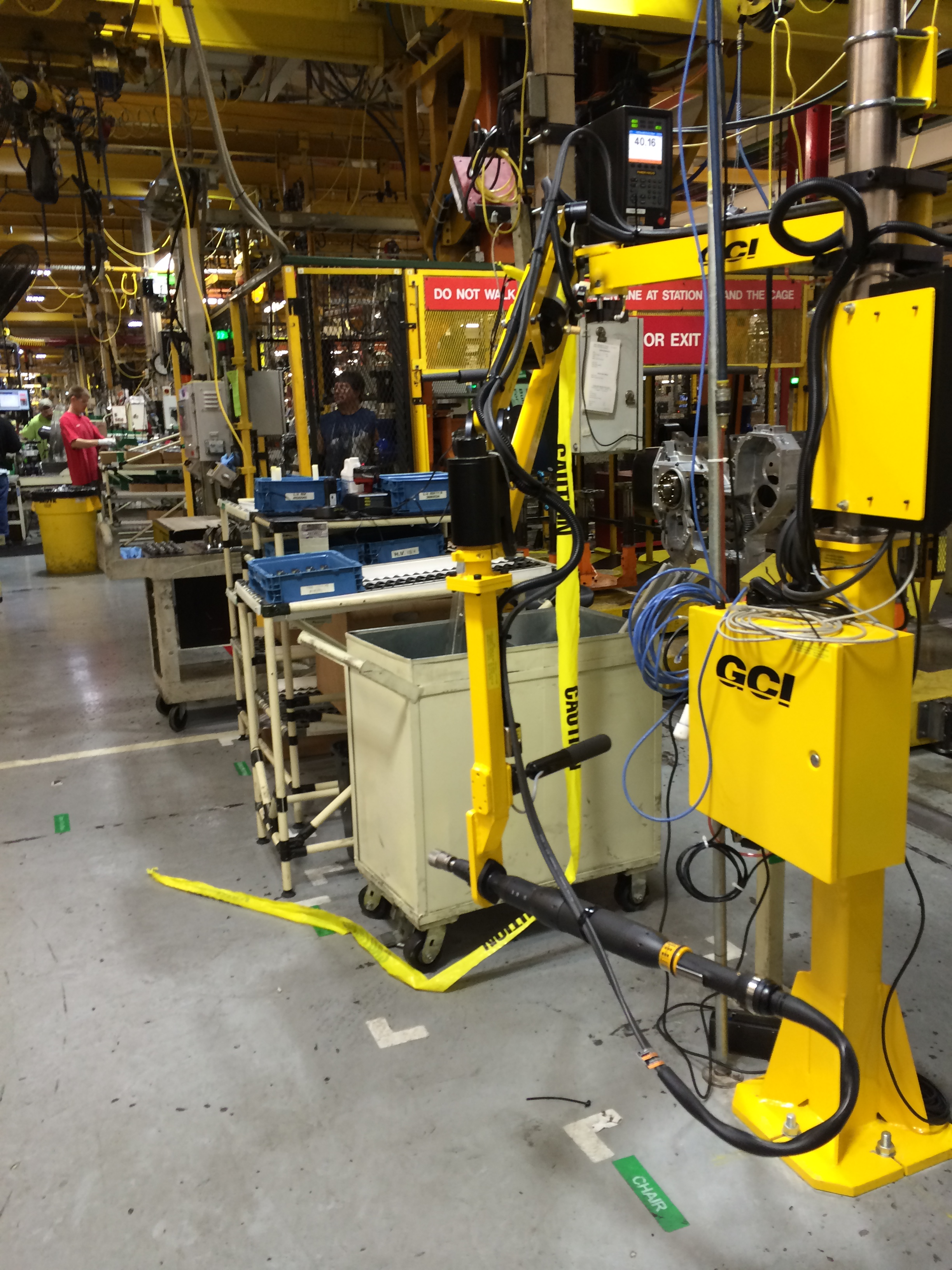 Gci Torque Arm : Torque reacting articulating arms ohio tool systems