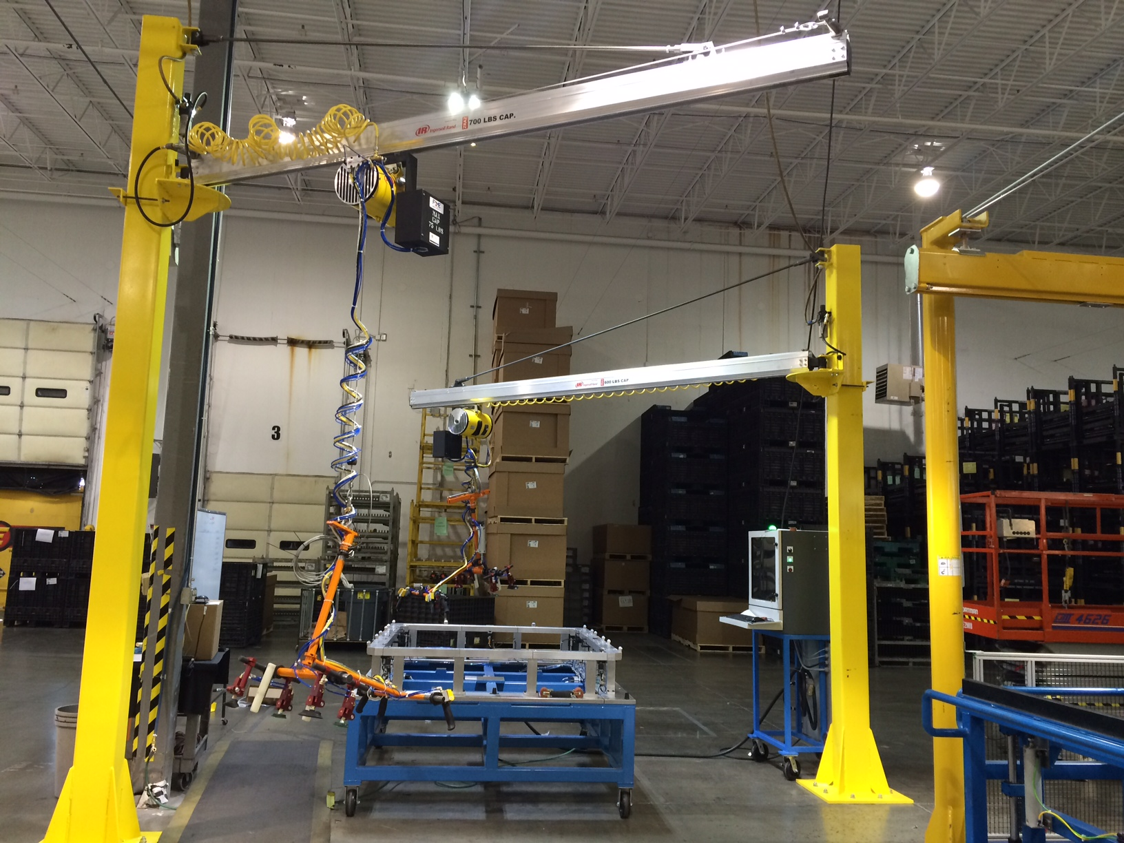 Lifting Boxes For Lift Assists : Ergonomic lift assist ohio tool systems
