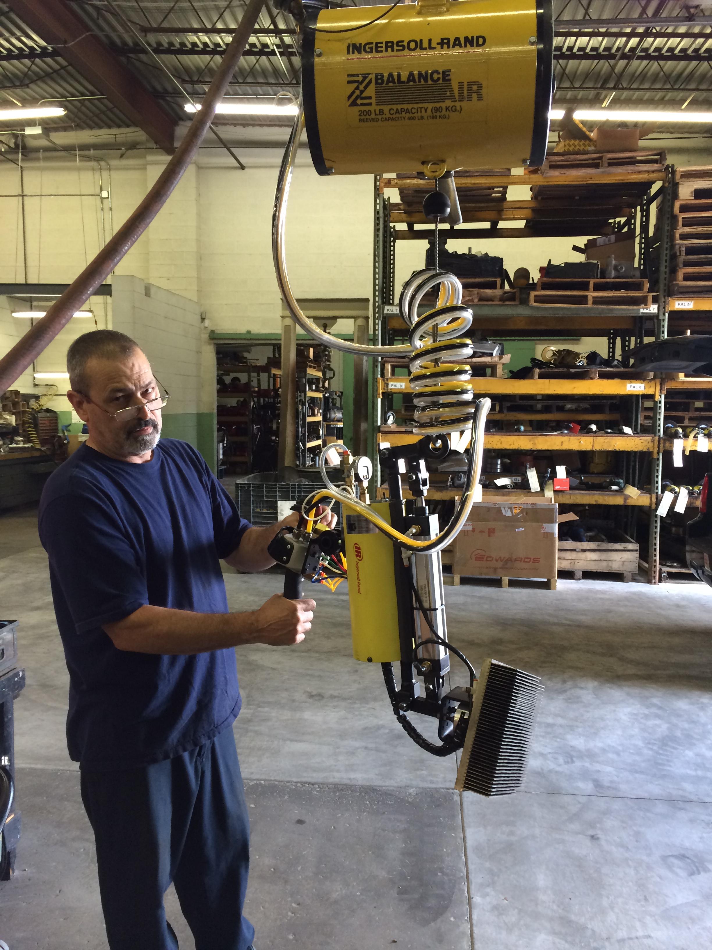 Tool Lift Assist : Ergonomic lift assist ohio tool systems