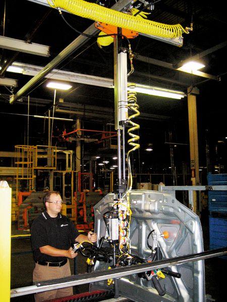Ergonomic Lift Assist Ohio Tool Systems