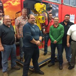 Ohio Tool Systems training class at J.D. Neuhaus, in Sparks, MD.