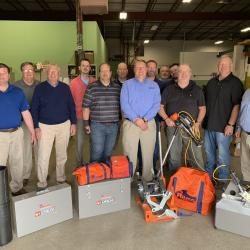 Ritmo America & Ohio Tool Systems team members at Ohio Tool Systems Home Office