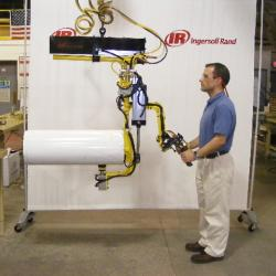 Roll Handling Lift Assist with power tilt, up to 300lbs capacity