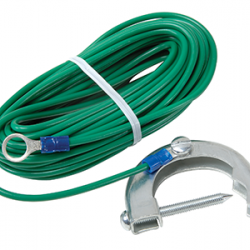 ARO Groundable Strap for Powder Pump