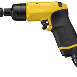 Atlas Copco Pneumatic Impact Wrench with Ergonomic Grip and Vibration Reduction