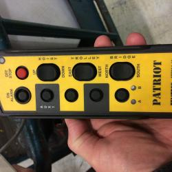 Radio Remote that we used to replace the 9 button pendant.