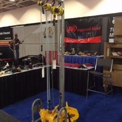 Ingersoll Rand Manual Hoist and BU7A Air Winch