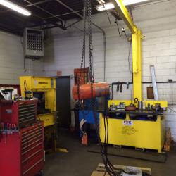 Ohio Tool Systems Portable Repair Table and Crane Assembly