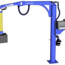 Articulating Jib with Vacuum Lift Tube.