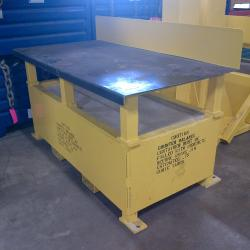 workstation crane - Workbench with Integrated Jib Crane Concrete Counter-Balance