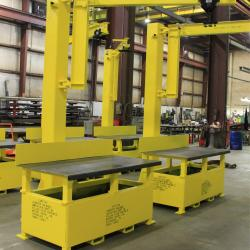 workstation crane - Workbenches with Integrated Jib Cranes